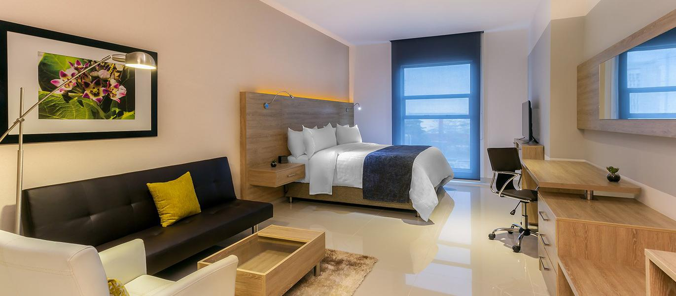 Perfect rooms for your rest - GHL Collection Barranquilla Hotel - Barranquilla