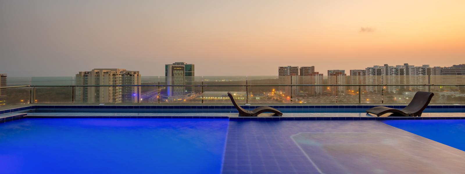 The best sunsets - GHL Collection Barranquilla Hotel - Barranquilla